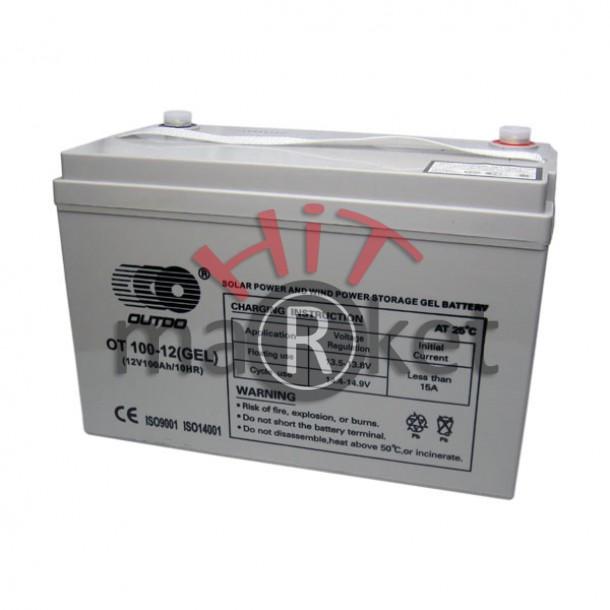 Акумулатор - гелов акумулатор 12V/ 100Аh
